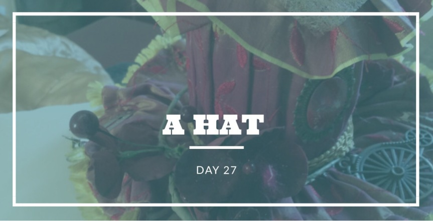 Day 27- A Hat  30 Day Fashion Challenge